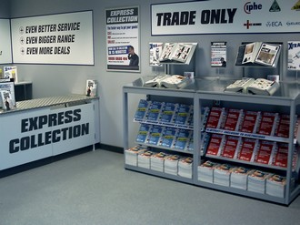 Electrical Products Electricfix Trade Counters Are On