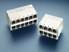 Tyco Electronics' new MAG45 PoE Plus PSE-ICM connector meets IEEE 802.3AT specifications