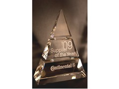 AVX named as supplier of the year by Continental Automotive