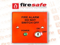A secure isolator lockswitch for compliant fire alarm systems
