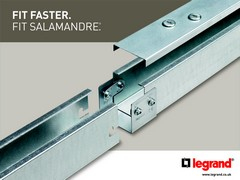 Legrand speeds ahead with fast fit salamandre trunking