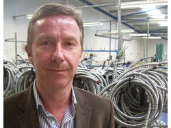 Dave Lewis, Managing Director of Apex Wiring Solutions