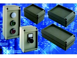 Versatile IP66 aluminium push-button enclosures