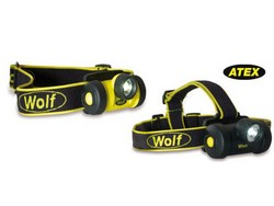 New ATEX Zone 0 Headtorch from Wolf
