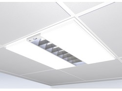 New recessed luminaire combines T5 fluorescent and LED technology