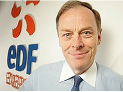 Vincent de Rivaz, Chief Executive of EDF Energy