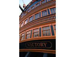 CP sets the scene on HMS victory