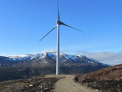 The 300 hectare site near Dingwall currently has 34 turbines capable of generating 17MW of electricity