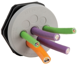 Multi-Cable Entry Plates Seal To IP66
